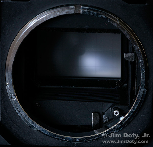 Mechanical LEns Connections of an Older Model Camera