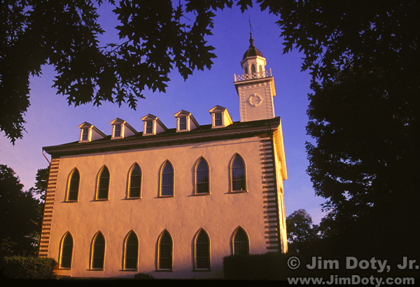 Kirtland Temple, Early Morning Light