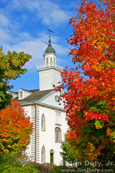 Autumn, Kirtland Temple